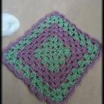 Granny Square Washcloth