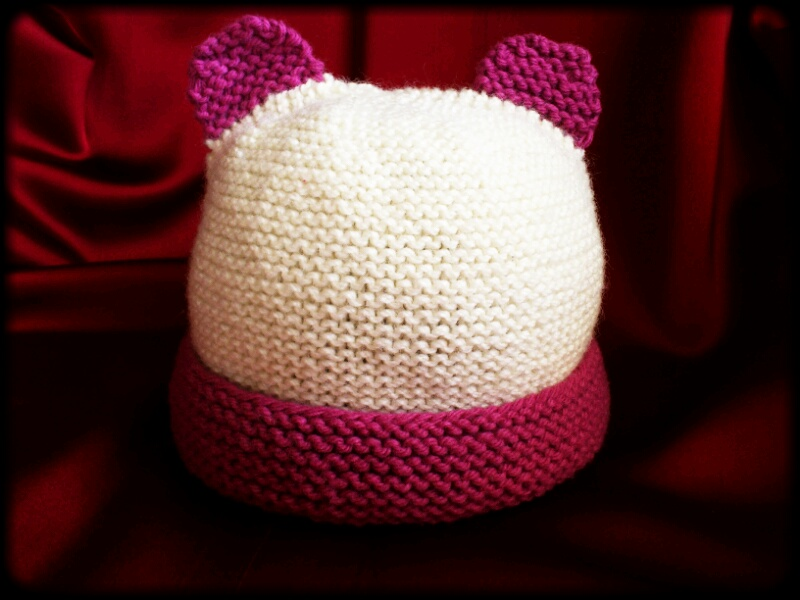 Merino baby hat